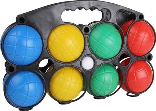 Jeu de Boules set - 8 Gekleurde Ballen