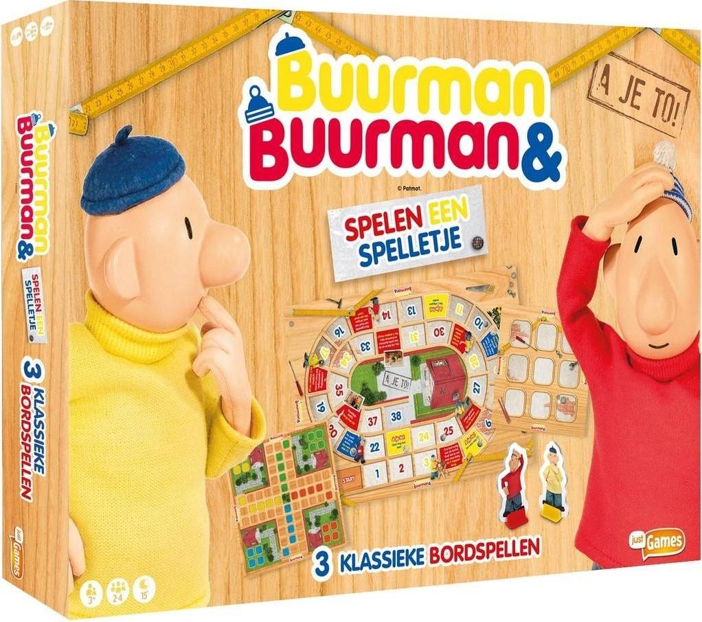 Bedwelming Buurman & Buurman Spelen een Spelletje - kopen bij Spellenrijk.nl &MB25