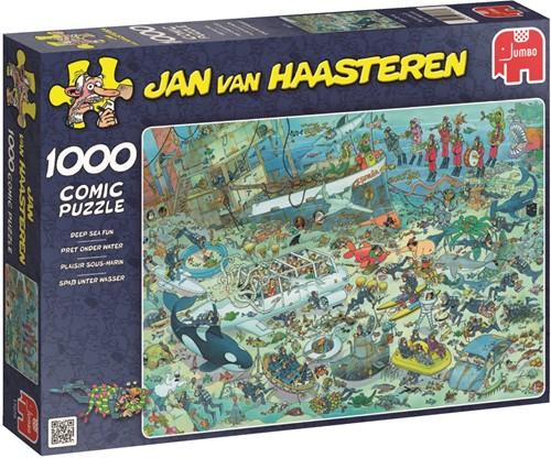 Jan van Haasteren - Onderwater Wereld Puzzel (1000 stukjes)