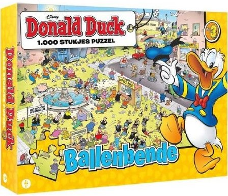 Donald Duck 3 - Ballenbende Puzzel (1000 stukjes)