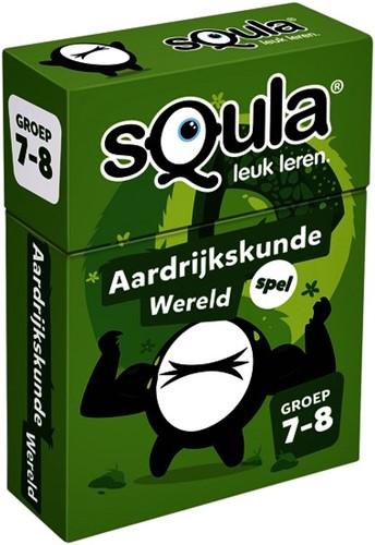 Kaartspel Squla - Aardrijkskunde Wereld