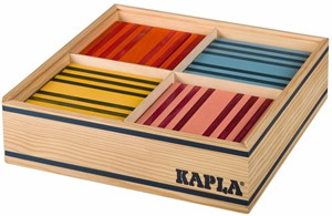 Kapla 100 Stuks In Kist Gekleurd prijzen vergelijken. Klik voor vergroting.