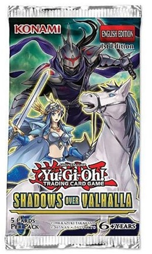 Yu-Gi-Oh! Shadows in Valhalla Boosterpack