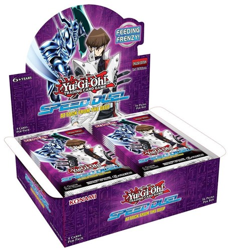 Yu-Gi-Oh! - Speed Duel 2 Attack from the Deep Boosterbox
