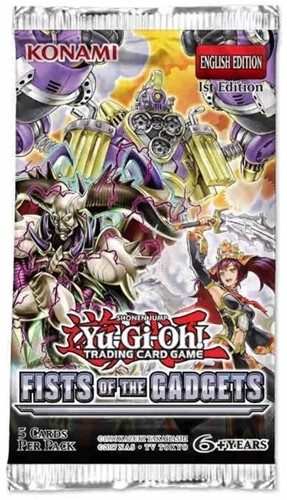 Yu-Gi-Oh! - Fist of the Gadgets Boosterpack