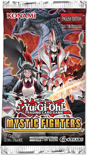 Yu-Gi-Oh! - Mystic Fighters Boosterpack