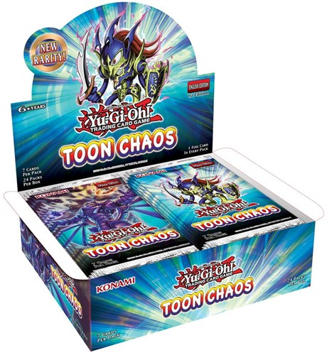 Yu-Gi-Oh! -  Toon Chaos Unlimited Reprint Boosterbox