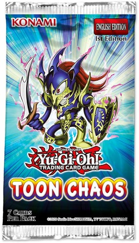 Yu-Gi-Oh! -  Toon Chaos Unlimited Reprint Boosterpack