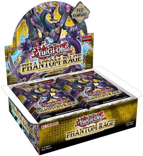 Yu-Gi-Oh! Phantom Rage Boosterbox