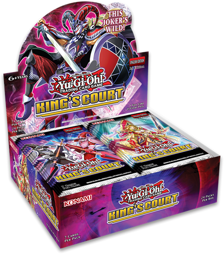 Yu-Gi-Oh! - King's Court Boosterbox
