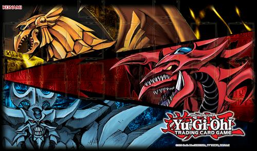 Yu-Gi-Oh! - Playmat Slifer Obelisk & Ra