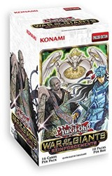 Yu-Gi-Oh! - War of the Giants Reinforcements Boosterbox