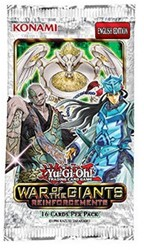Yu-Gi-Oh! - War of the Giants Reinforcements Boosterpack