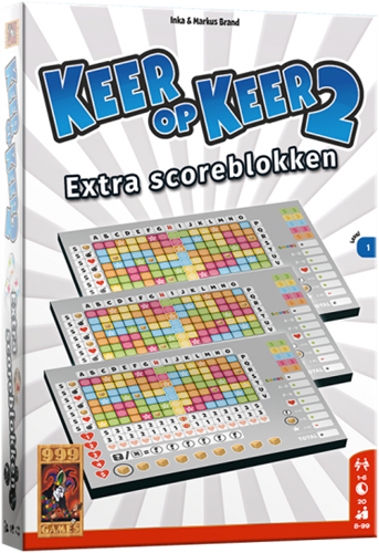 Keer op Keer 2 - Scoreblok Level 1 (3 stuks)