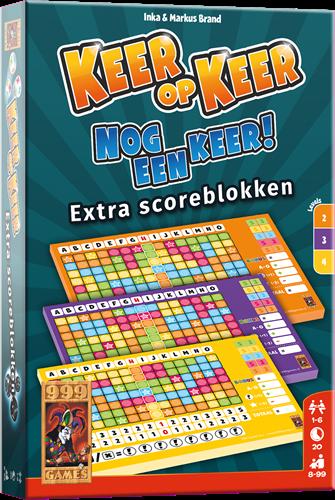 Keer op Keer - Scoreblok Level 2/3/4 (3 stuks)