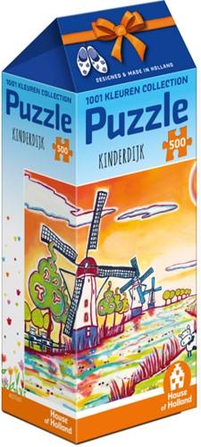 1001 Kleuren - Kinderdijk Puzzel (500 stukjes)-1