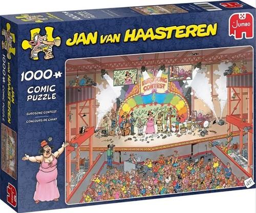 Jan van Haasteren - Eurosong Contest Puzzel (1000 stukjes)