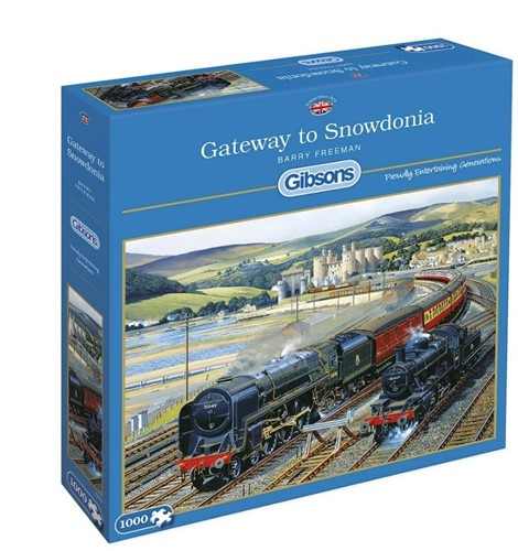 Gateway to Snowdonia Puzzel (1000 stukjes)