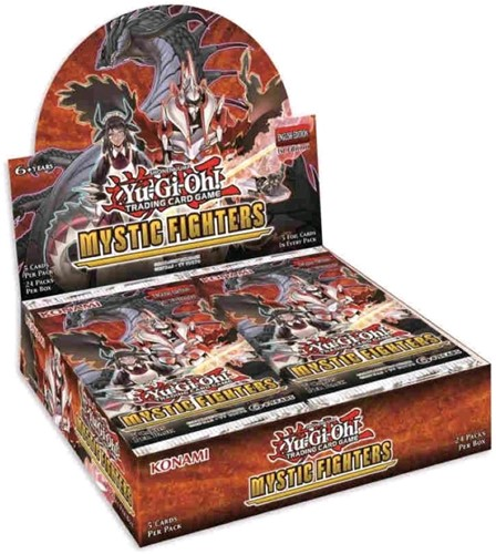 Yu-Gi-Oh! - Mystic Fighters Boosterbox