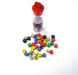 Mini Dobbelstenen 5mm Assorti (30 stuks)