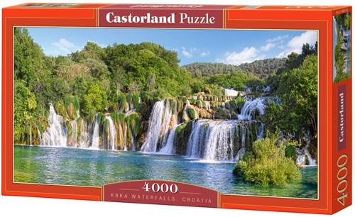 Krka Waterfalls, Croatia Puzzel (4000 stukjes)