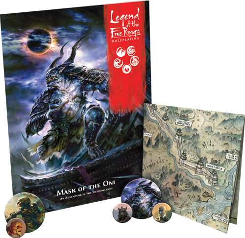 Legend of the Five Rings - Mask of the Oni-2