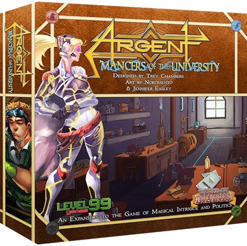 Argent Mancer of the University 2nd edition