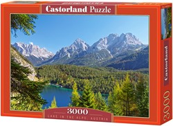 Lake in the Alps, Austria Puzzel (3000 stukjes)