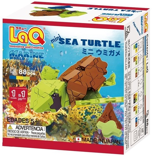 LaQ Marine World Mini Sea Turtle