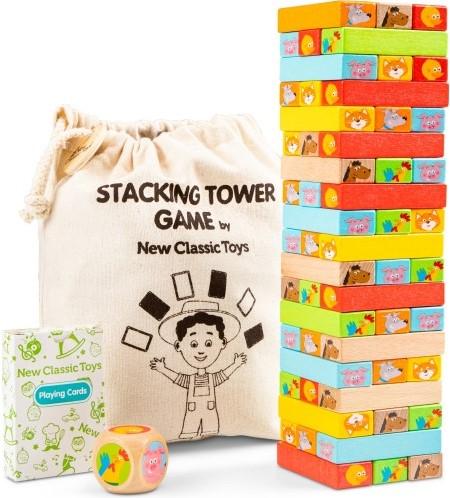 New Classic Toys - Blokkentoren (112 stukjes)