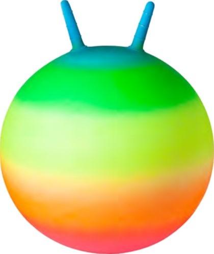 Skippybal Regenboog Neon (45 cm)