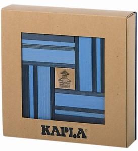 Kapla: 40 stuks kleur met boekje blauw