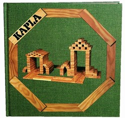 Kapla: Voorbeeldenboek nr. 3 groen