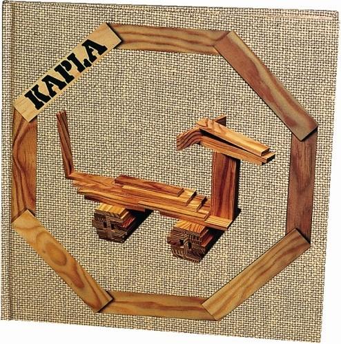 Kapla: Voorbeeldenboek nr. 4 bruin