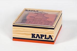 Kapla: 40 stuks in kist oranje