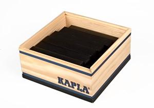 Kapla: 40 stuks in kist zwart