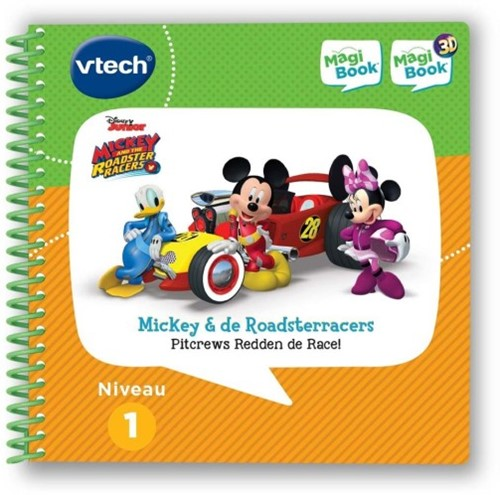 Vtech MagiBook - Mickey and the Roadster Racers