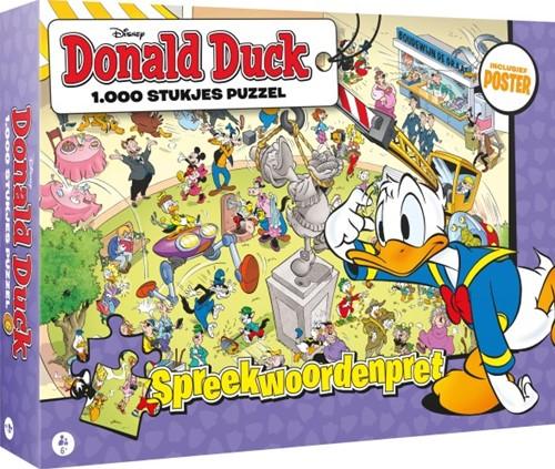 Donald Duck - Spreekwoordenpret Puzzel (1000 stukjes)