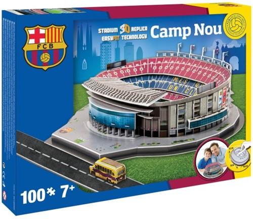 FC Barcelona - Camp Nou 3D Puzzel (106 stukjes)