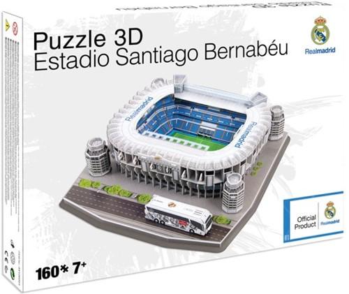 Real Madrid - Santiago Bernabeu 3D Puzzel (160 stukjes)