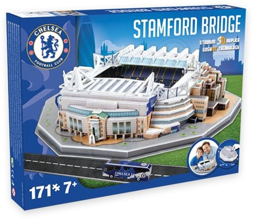 Chelsea - Stamford Bridge 3D Puzzel (171 stukjes)