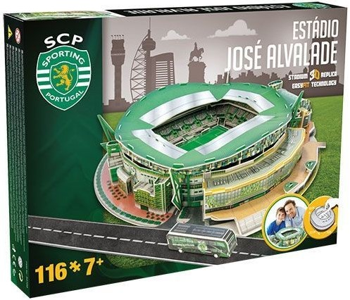 Sporting Lisboa - Jose Alvalade 3D Puzzel (116 stukjes)