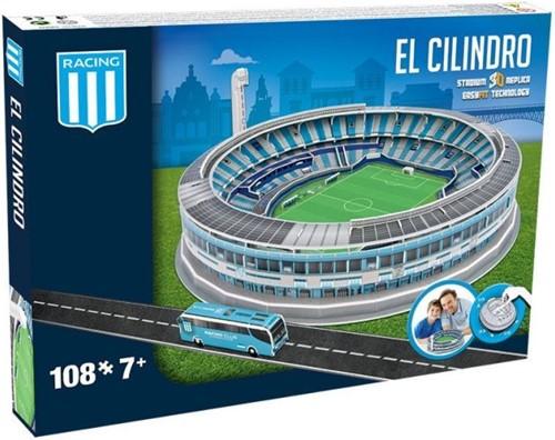 Racing - El Cilindro 3D Puzzel (108 stukjes)