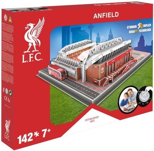 Liverpool - Anfield Road 3D Puzzel (142 stukjes)