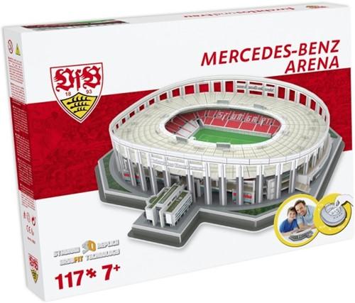 Stuttgart - Mercedes-Benz Arena 3D Puzzel (117 stukjes)