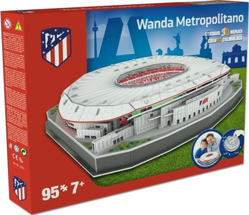 Atletico Madrid - Wanda Metropolitano 3D Puzzel (95 stukjes)