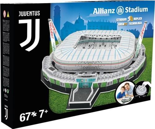 Juventus - Allianz Stadium 3D Puzzel (67 stukjes)