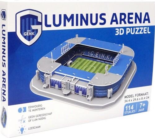 Genk - Luminus Arena 3D Puzzel (114 stukjes)