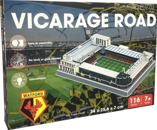 Watford - Vicarage Road 3D Puzzel (116 stukjes)