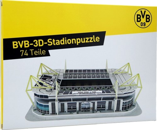 Borussia Dortmund - Signal Iduna Park 3D Puzzel (74 stukjes)